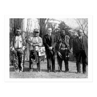 Carte Postale Osage Indians, 1925