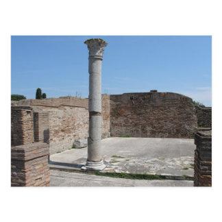 Carte Postale Ostia Antica - photographie archéologique