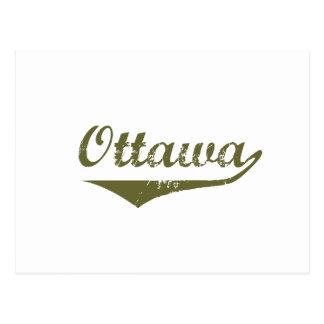 Carte Postale Ottawa