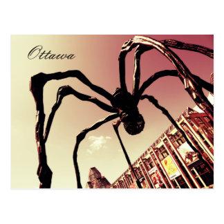 Carte Postale Ottawa, araignée géante Maman