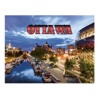 Carte Postale Ottawa au crépuscule