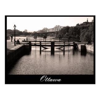 Carte Postale Ottawa, canal de Rideau,