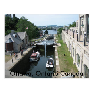 Carte Postale Ottawa, Ontario Canada