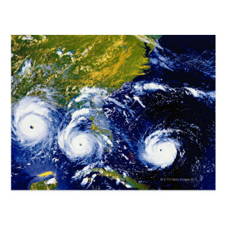 Carte Postale Ouragan Andrew