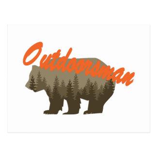 Carte Postale Outdoorsman