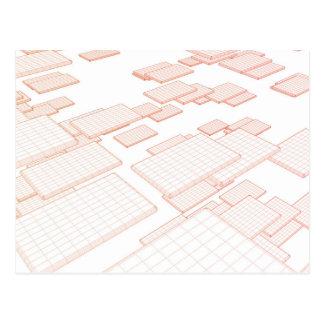 Carte Postale Outils de logiciel et de technologie de