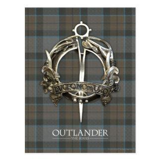 Carte Postale Outlander   la broche de clan du Mackenzie