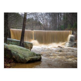 Carte Postale Overtopping de barrage de la Caroline du Nord