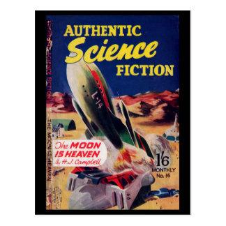 Carte Postale _P authentique de la science-fiction 016