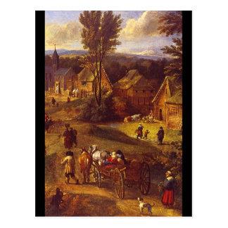 Carte Postale Paesaggio Estivo', T. Michau_Dutch Masters