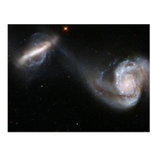 Carte Postale Paires de galaxie