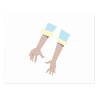 Carte Postale Paires de mains