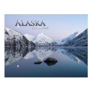 Carte Postale Paix de l'Alaska sur terre