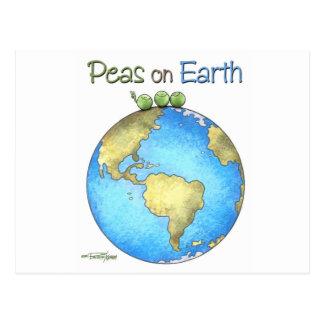 Carte Postale Paix sur terre
