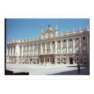 Carte Postale Palacio vrai, Madrid