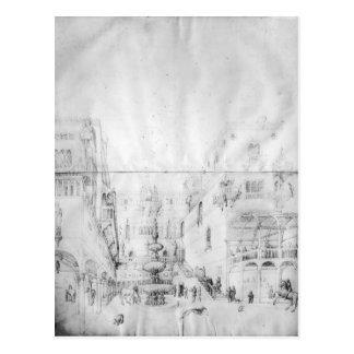 Carte Postale Palais de Fol.16v-17r Herod