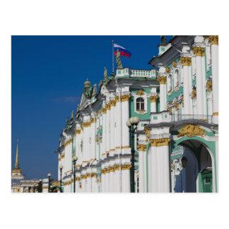 Carte Postale Palais d'hiver et musée d'ermitage