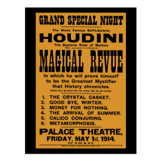 Carte Postale Panneau-réclame 1914 jaune reconstitué de Harry