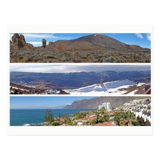 Carte Postale Panoramas de Ténérife