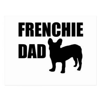 Carte Postale Papa de Frenchie