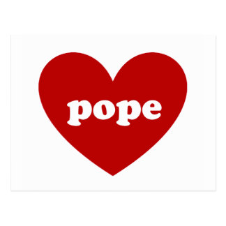 Carte Postale Pape