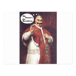 Carte Postale Pape du DA