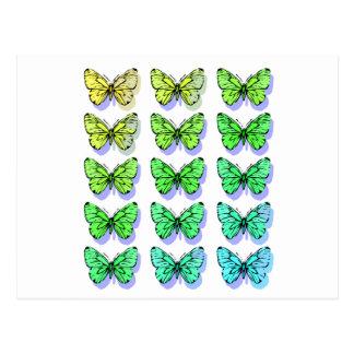 Carte Postale Papillons frais