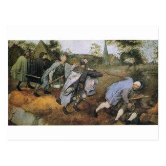 Carte Postale Parabole des abat-jour par Pieter Bruegel l'aîné
