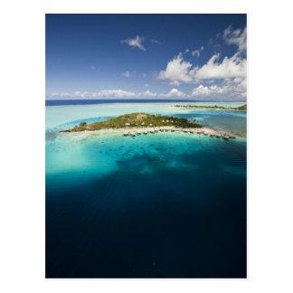 Carte Postale Parachute ascensionnel au-dessus de la belle