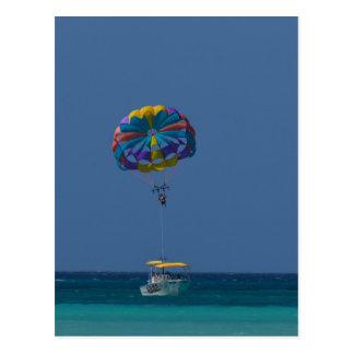 Carte Postale Parachute ascensionnel coloré
