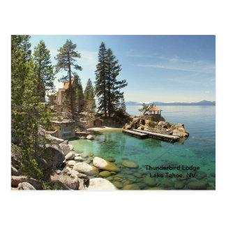 Carte Postale Paradis @ le lac Tahoe, Nevada