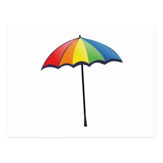 Carte Postale Parapluie d'autisme