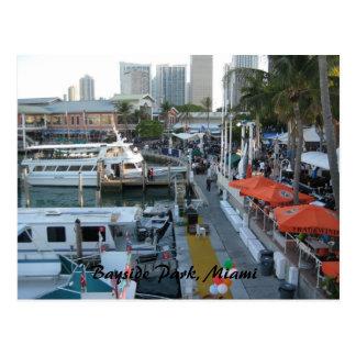Carte Postale Parc de Bayside, Miami