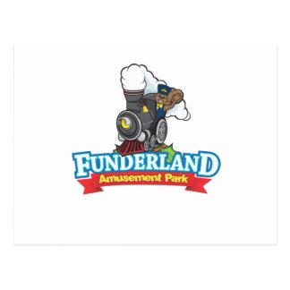 Carte Postale Parc de Funderland