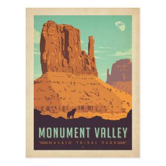 Carte Postale Parc de tribal de Navajo de la vallée | de