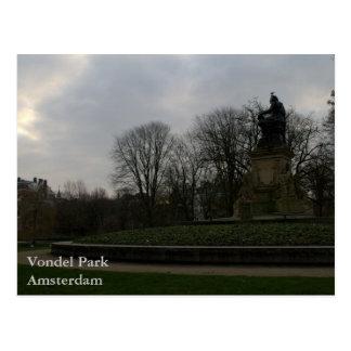 Carte Postale Parc de Vondel, Amsterdam
