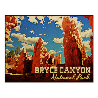 Carte Postale Parc national de canyon de Bryce