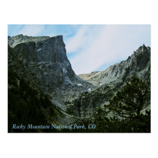Carte Postale Parc national de montagne rocheuse, Co