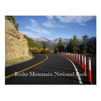 Carte Postale Parc national de montagne rocheuse, le Colorado,
