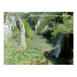 Carte Postale Parc national de Plitvice