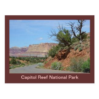 Carte Postale Parc national de récif de capitol