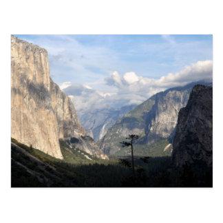 Carte Postale Parc national de Yosemite Vally