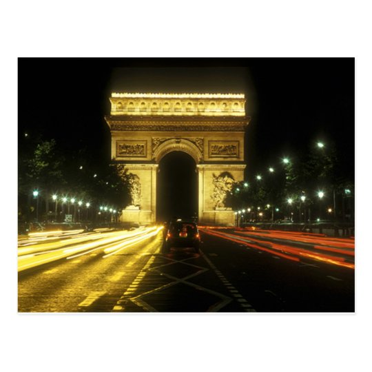 Carte Postale Paris - Arc de Triomphe -