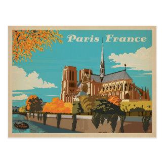 Carte Postale Paris, France