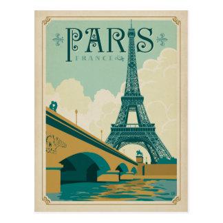 Carte Postale Paris France - Tour Eiffel