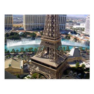 Carte Postale Paris, Las Vegas