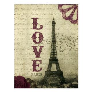 Carte Postale Paris vintage