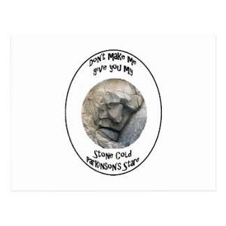 Carte Postale Parkinson froid en pierre