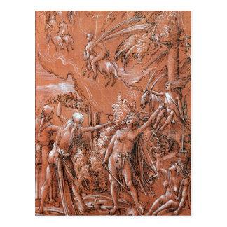 Carte Postale Partant pour le sabbat, 1506