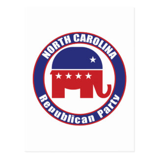 Carte Postale Parti Républicain de la Caroline du Nord